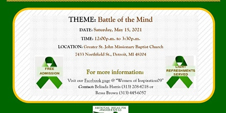 Copy of Facing Mental Illness: Battle of the Mind tickets