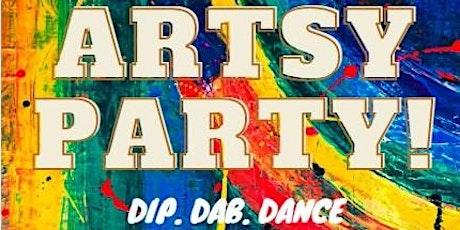 Artsy Party Brum - Bank Holiday Splash tickets