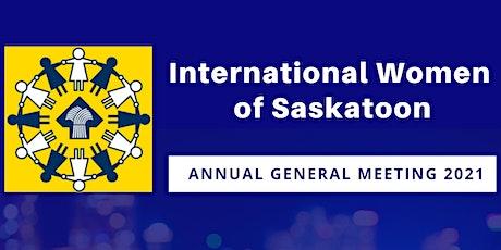International Women of Saskatoon Virtual AGM tickets