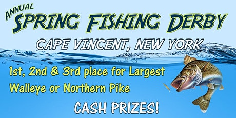 Annual Spring Fishing Derby tickets
