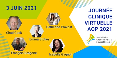 Journée Clinique Virtuelle et Assemblée générale annuelle AQP 2021 billets
