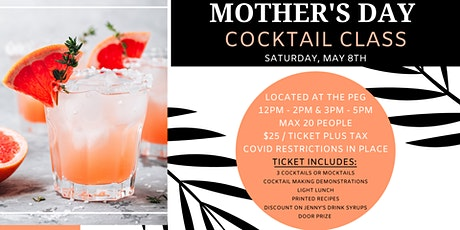 Mother's Day Cocktail Class tickets
