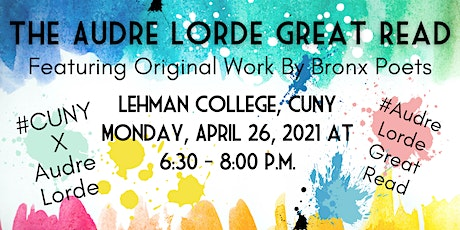 The Audre Lorde Great Read Featuring Original Work by Bronx Poets tickets