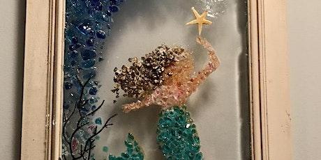 Mermaid- Glass & Resin on Glass (Advanced Premium Class) tickets