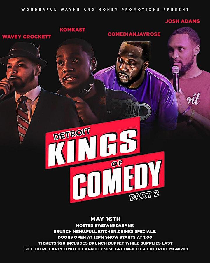 Detroit Kingz Of Comedy Brunch image