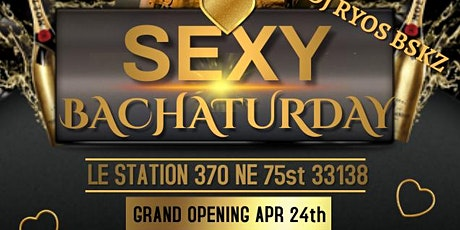 SEXY BACHATURDAY, CLASSES AND SOCIAL IN LE STATION tickets