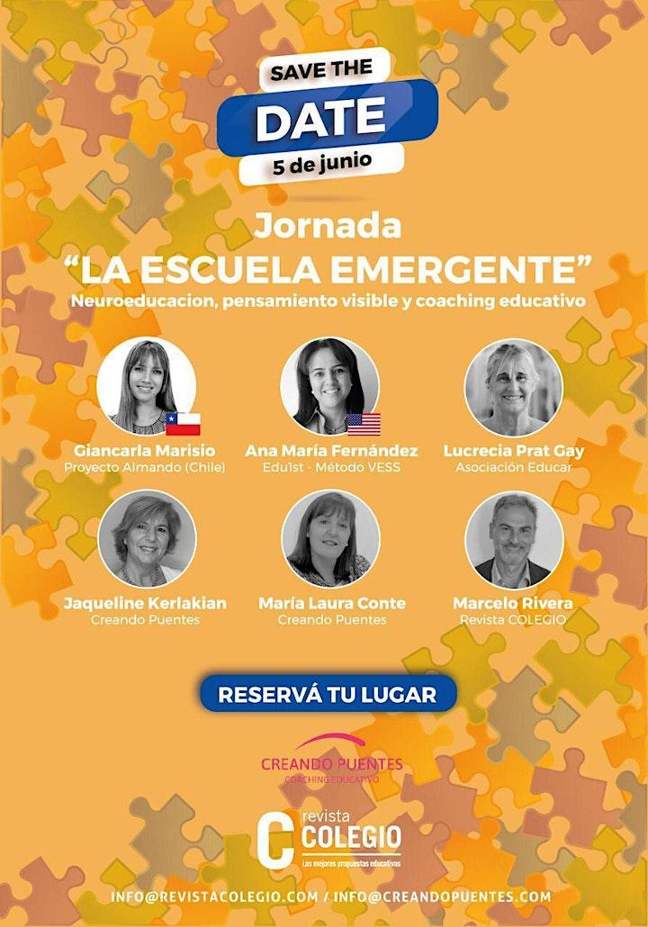 Imagen de JORNADA - LA ESCUELA EMERGENTE
