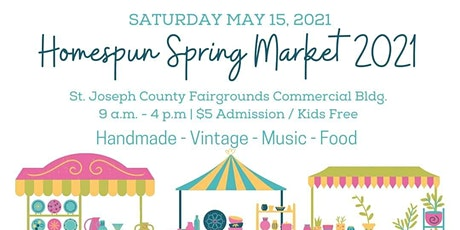 The Homespun Spring Artisan Market tickets