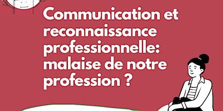 Communication et reconnaissance professionnelle billets