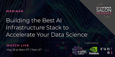 Building the Best AI Infrastructure Stack to Accelerate Your Data Science tickets