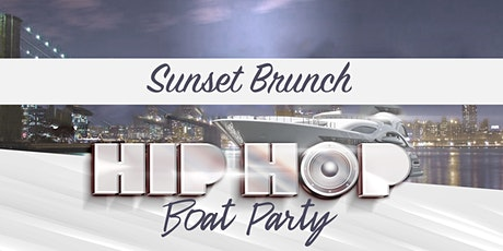 The #1 HIP HOP & R&B Sunset Brunch Boat Party NYC Yacht Cruise tickets