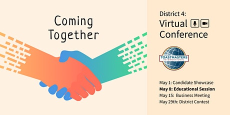 Coming Together, the D4 Annual Conference – Educational Sessions tickets