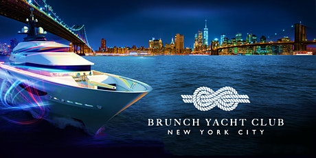 Sunset BRUNCH YACHT CLUB NYC Boat Party Cruise tickets