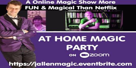 At Home Magic Party On Zoom With Jordan Allen tickets