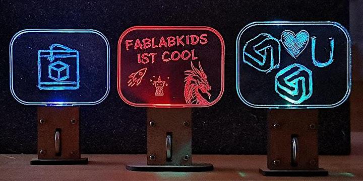 FabLabKids: LabGirls - scratchie, gestalte Dein buntes Leucht-Display: Bild