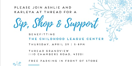 Sip, Shop and Support tickets