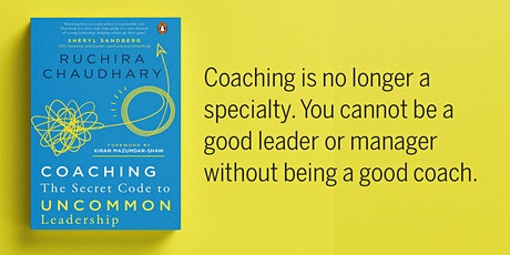 "Q&A w/ Ruchira on ""Coaching: The Secret Code to Uncommon Leadership"" tickets"