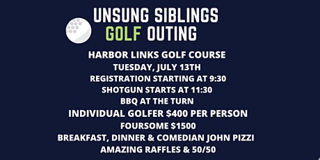 3rd  Annual Golf Outing tickets