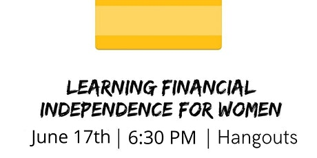 VCI Learning: Financial Independence for Women (Spanish) tickets