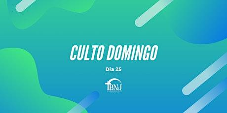 Culto IBNJ  Domingo Dia 25/04 ingressos
