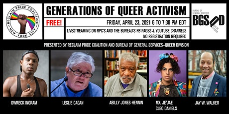 Generations of Queer Activism tickets