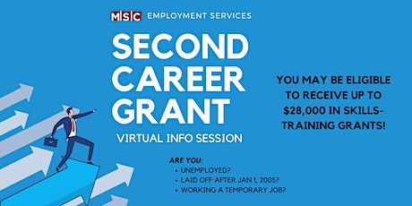 Second Career Grant Info Session tickets