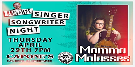 Singer Songwriter Night with Momma Molasses tickets