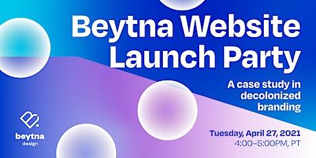 Beytna Website Launch Party tickets
