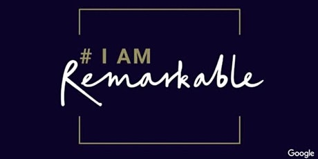 #IamRemarkable boletos