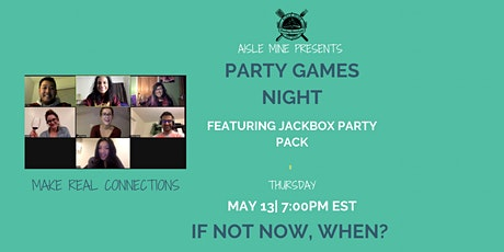 May - Party Games Night tickets