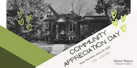 Community Appreciation Day tickets