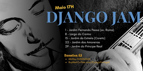 DJANGO PORTUGAL JAM SESSIONS bilhetes