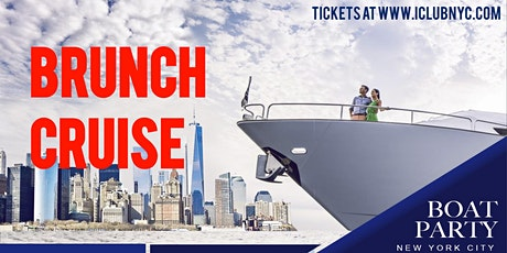 NYC BRUNCH BOAT PARTY YACHT CRUISE  NEW YORK CITY tickets