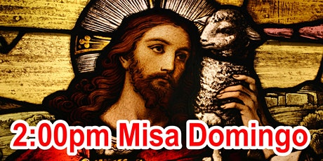 2:00pm Misa Dominical  (Afuera/Escuela) tickets