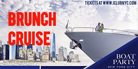 #1 BRUNCH  BOAT PARTY CRUISE NEW YORK CITY VIEWS  OF STATUE OF LIBERTY tickets