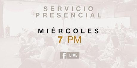 SERVICIO PRESENCIAL boletos