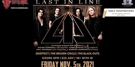 LAST IN LINE (Featuring Original DIO Members) tickets