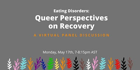 Eating Disorders: Queer Perspectives on Recovery tickets