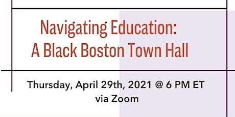 Town Hall: Navigating Education tickets