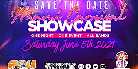 Miami Carnival Showcase 2021 - Happy Place tickets