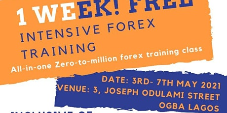 One week intensive Forex Trading Master Class tickets