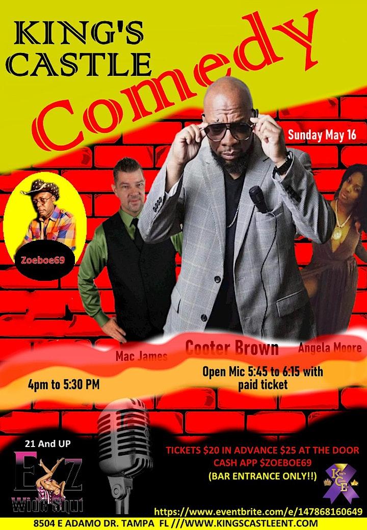King's Castle Comedy Tour image