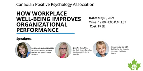 How Workplace Well-Being Improves Organizational Performance tickets