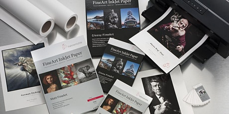The Fundamentals of Digital Printing - From Image to Paper w/Hahnemühle tickets