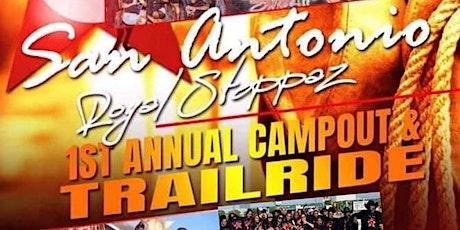 San Antonio Royal Steppaz 1st Annual  Campout Trailride tickets