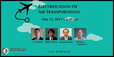 2021-05-12 Electrification of Air Transportation tickets