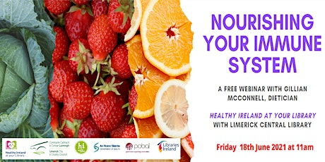 Nourishing Your Immune System with Gillian McConnell (Inside Out Nutrition) tickets