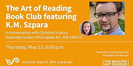 The Art of Reading Book Club featuring K.M. Szpara tickets