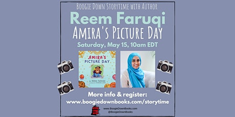 Boogie Down Storytime with Author Reem Faruqi (May 15) tickets