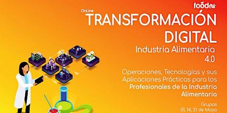Transformación Digital para Profesionales de  la  Industria Alimentaria tickets
